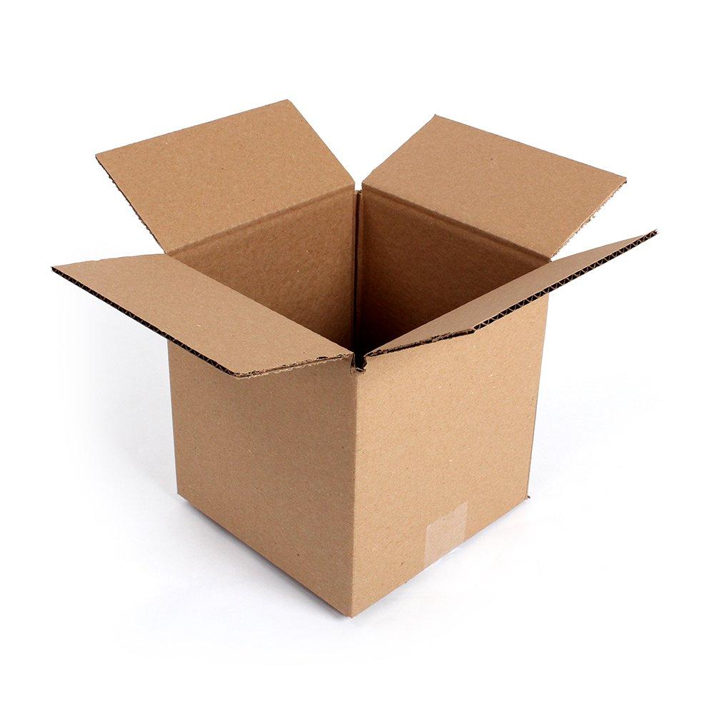 Single flute cardboard box small 250 x 250 x 100 mm 200 by