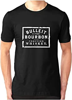 Bulleit Bourbon Logo Merchandise Slim Fit Tshirt