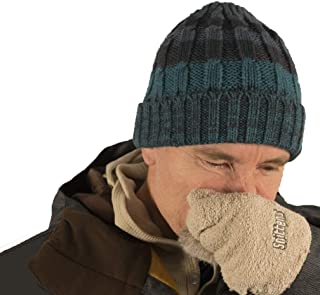 Snittens -The Original Snot Mittens. Funny Gift for Men, Winter Gloves for Runners Hikers Skiers for Christmas Father's Da...