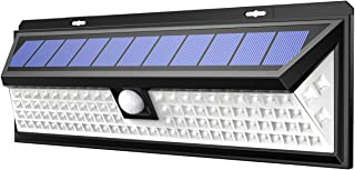 AMIR Solar Lights Outdoor, Enhanced 102 LED Super Bright Motion Sensor Wall Lights, IP65 Waterproof, 270° Wide Illumination Angle, Easy Install Security Lights for Driveway, Front Door, Yard etc.