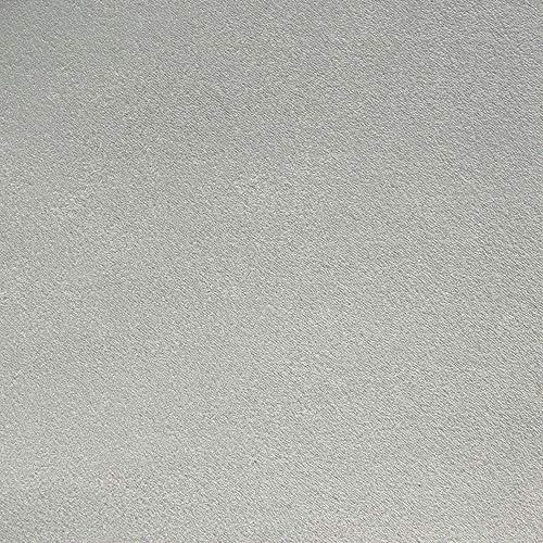 DESHOME Teknofibra - Tessuto al Metro in Microfibra Antimacchia scamosciato stoffa per divani, cuscini, tappezzeria (Grigio pietra, 1 metro)