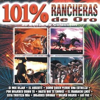 101% Rancheras De Oro - 20 Éxitos De Colección
