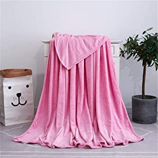 Aibiner Oversized Coral Fleece Throw Blanket for Couch Super Soft Solid Thick Fluffy Plush Throw Blanket for Chair Sofa Bed 120x200cm