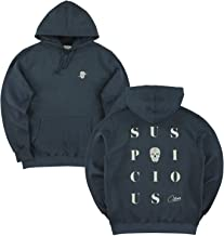 サスピシャスアントワープ The Playground Hoodie - Navy // Off-White