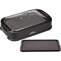 Power Tempered Glass Lid Smokeless Electric Grill