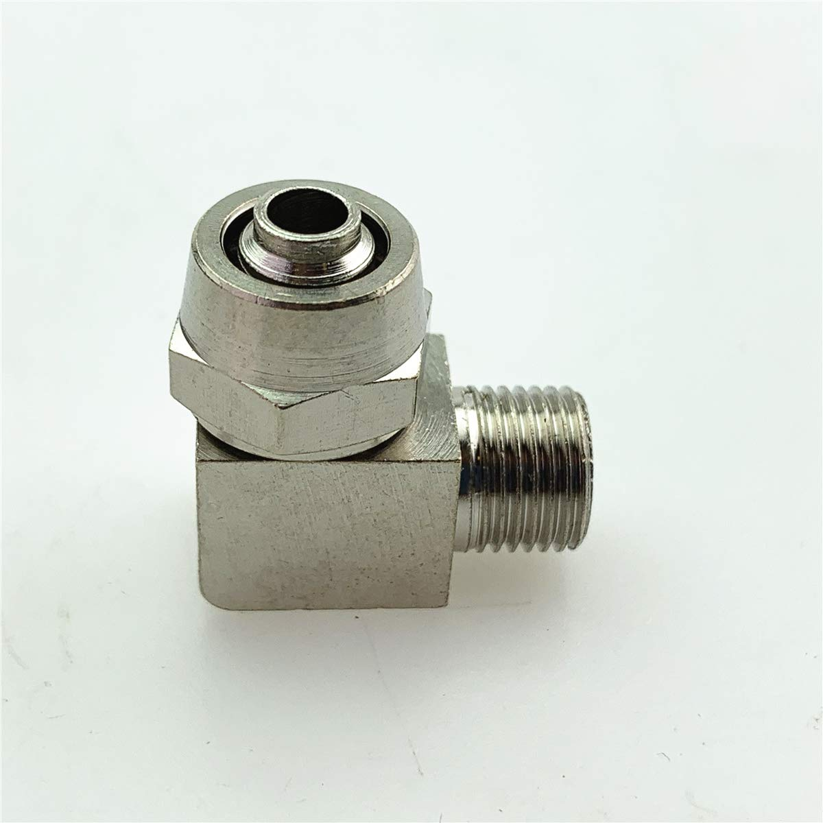 Pneumatic Air Pipe Quick Pl8 Mm-02 Joint Arlington Mall Degree 2021 autumn and winter new Screw R 90