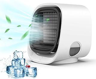 Anweller Refroidisseur d'air Portable, Climatiseur Portable 4 en 1, Climatiseur Mobile Silencieux avec Grand réservoir d'e...