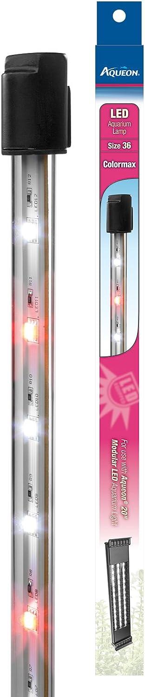Aqueon Modular LED Aquarium Light Bulb, colormax, Size 36