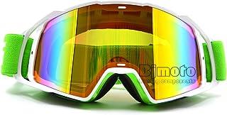 Calistouk Gafas para la conducci/ón todoterreno de bicicletas gafas para el polvo resistentes al viento popular