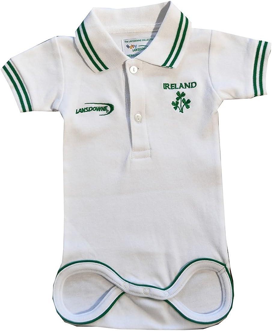 Irish Superman Baby Vest Ireland Rugby St Patricks Day Boys Girls Football Gift