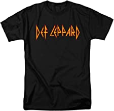 Def Leppard Logo Officially Licensed T-Shirt & Stickers