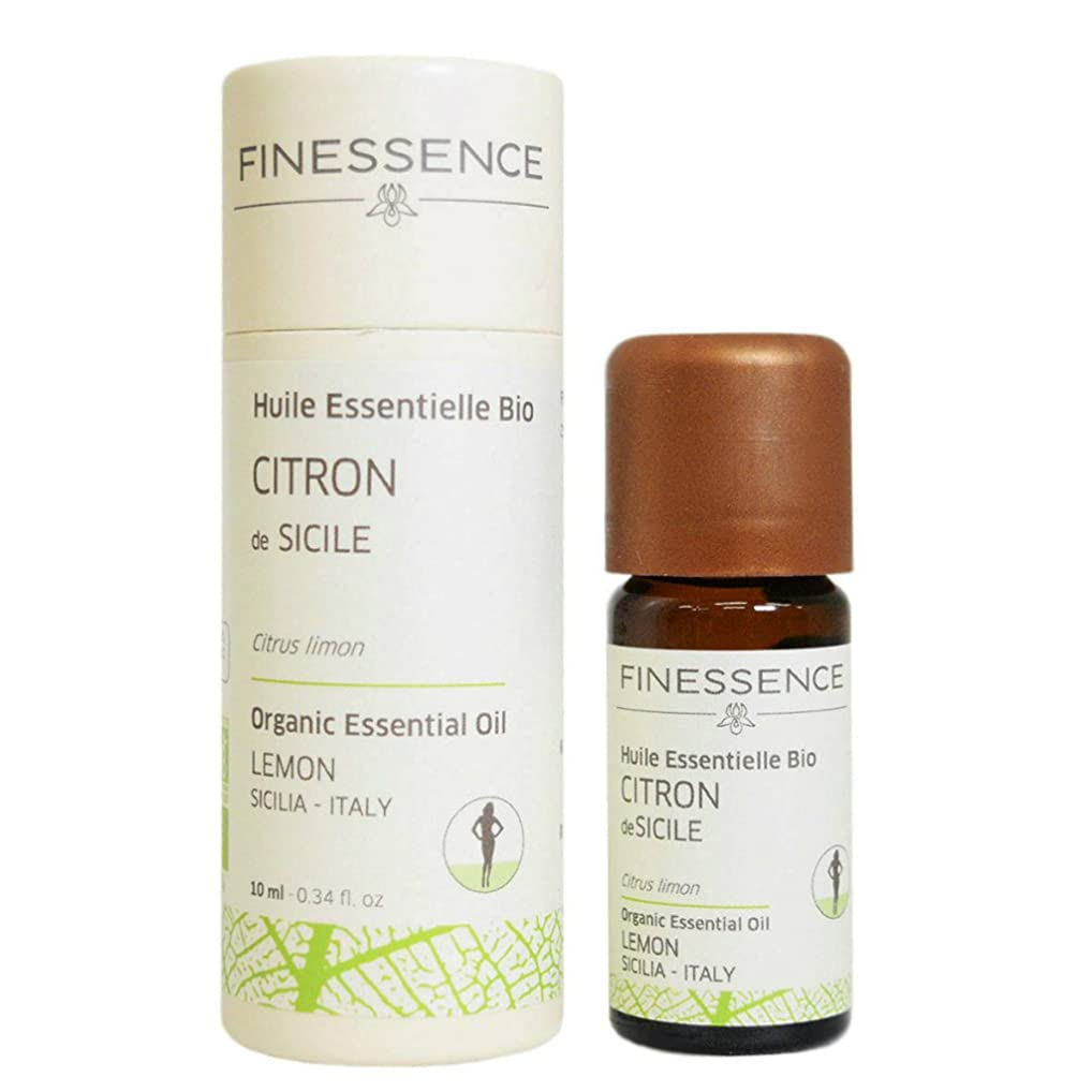 つらいオーディション販売計画フィネッサンス (FINESSENCE) オーガニックエッセンシャルオイル レモン 10ml