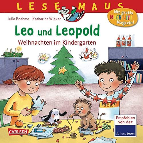 LESEMAUS 163: Leo und Leopold – Weihnachten im Kindergarten (163)