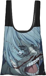 咒术回战 真人 (9) 环保袋 折叠 时尚 购物袋 便利店包 人气 大容量 实用 防水 可爱 肩背 轻量 可洗 购物袋