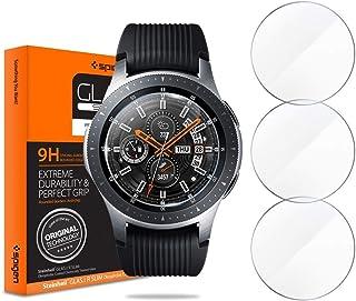 Spigen Samsung Galaxy Watch 46mm Tempered Glass Screen Protector (3 Pack)