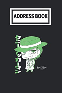 Address Book: Attack on Titan Season 3 Two Toned Kenny Telephone & Contact Address Book with Alphabetical Tabs. Small Size...