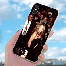 Inspired by Mariah Carey Phone Case Compatible With Iphone 7 XR 6s Plus 6 X 8 9 11 Cases Pro XS Max Clear Iphones Cases TPU - Unplugged- Women- Glitter- Highlighter- Highlighter- 33052447897