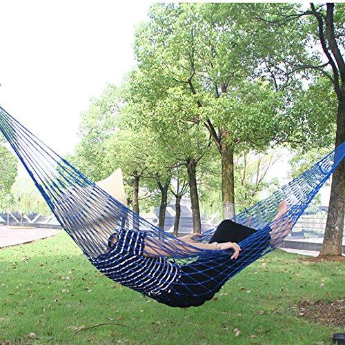 ryadia (TM) Nouveau tissu d'extérieur en nylon parachute Hamac pliable Hamac Filet Lit de couchage camping Hamac 270 x 80 cm tonsee gros
