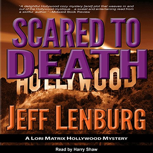 Scared to Death audiobook cover art