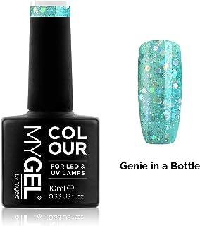 Esmalte de gel para uñas MyGel de MYLEE (10ml) MG0088 - Genie In A Bottle UVLED Nail Art Manicure Pedicure para uso prof...
