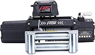 FROM ANT Series Electric Winch 9500lbs 12V with Wire Rope FA9.5 for ATV UTV Jeep Trailer Truck