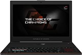 Asus ROG ZEPHYRUS GX501GI-EI008T Gaming Laptop -Intel Core i7-8750H, 15.6-Inch FHD, 512GB SSD, 24GB, 8GB VGA-GTX1080Q, Eng-Arb-KB, Windows 10, Black