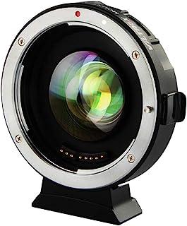 Viltrox EF-m2 II Focal Reductor Booster Adaptador de Enfoque automático Objetivos de la Serie Canon EF a M43 Cámaras