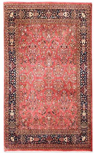 Thomas Saruk Indien Orientteppich rot   Schurwolle   247 x 296