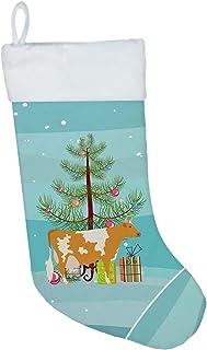 Caroline's Treasures Guernsey Cow Christmas-Stockings, Multicolor
