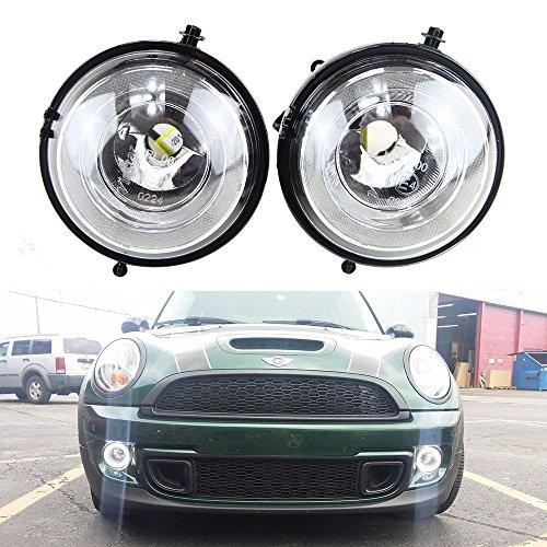 Newsun passgenaue, leistungsstarkes LED-Tagfahrlicht/-Nebelscheinwerfer im Halo-Angel-Eyes-Stil
