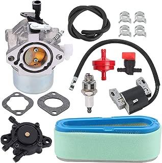 Fuel Li 699831 Carburetor+ 691667 Air Filter 591459 Ignition Coil KitforBriggs&Stratton28D702 28D707 28M706 Engine Replace 694941 493910 492341 495859 491312 808656