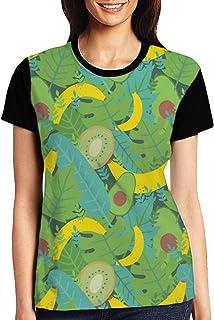 Turtles Womens Casual Crewneck T-Shirt