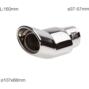 2.2 D-CAT-Medio Silenziatore di scarico In acciaio inox TOYOTA-RAV 4 III
