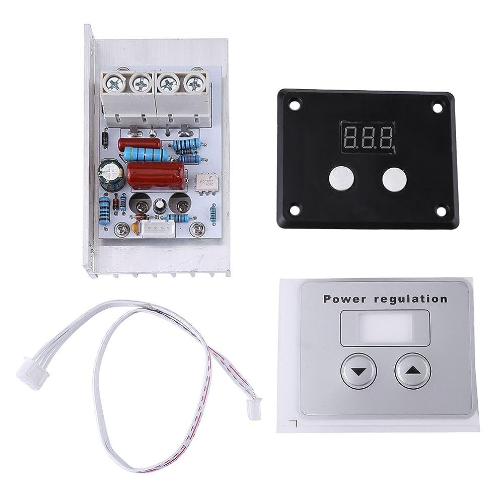 口頭保守可能運命的な10000W SCRデジタル電圧レギュレータ速度制御調光サーモスタットAC 220V 80A