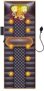 FEFCK Colchón De Masaje Térmico Mataje con Calefacción, 20 Cuello De Acupresión Y Amasado Vibration Massage Head Airbag Incorporado Puede Tirar De La Cintura