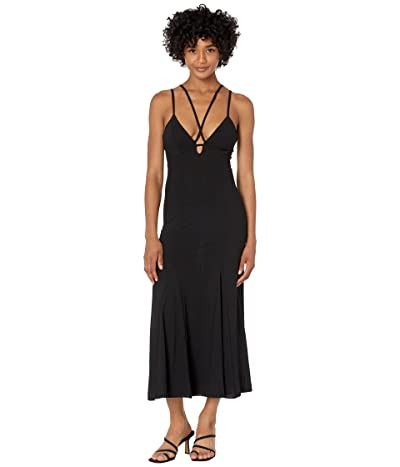 Bardot Sofia Sheer Mesh Midi Dress