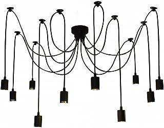 Amazon.es: Hierro - Lámparas de araña / Iluminación de techo ...