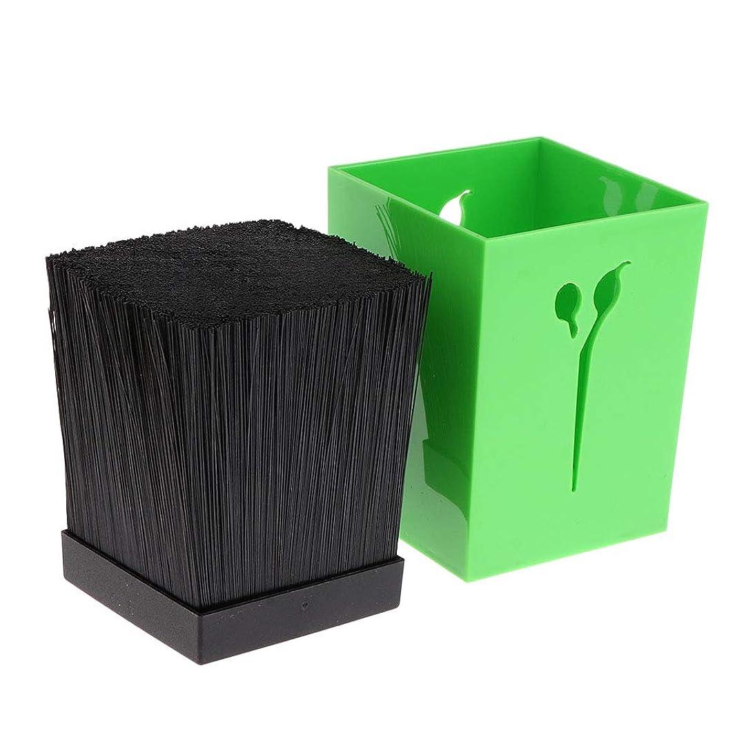 神社会うジョイントToygogo シザーケース はさみ収納ケース はさみホルダー バーバースタイルツール サロン櫛 5色選べ - 緑