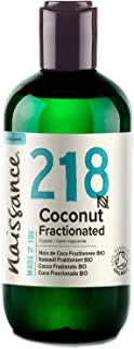 comprar comparacion Naissance Aceite Vegetal de Coco Fraccionado BIO n. º 218-250ml - Puro, natural, vegano, sin hexano, no OGM - Ideal para a...