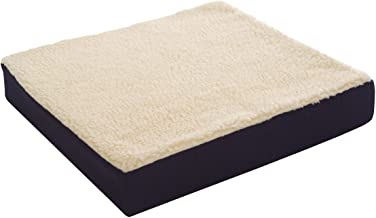 Essential Medical Supply Fleece Covered Wheelchair Cushion, 16 Inches X 16 Inches X 3 Inches