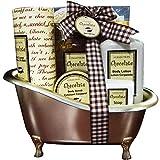 Gloss - caja de baño, caja de regalo para mujeres - Baño de baño de chocolate - 6pcs