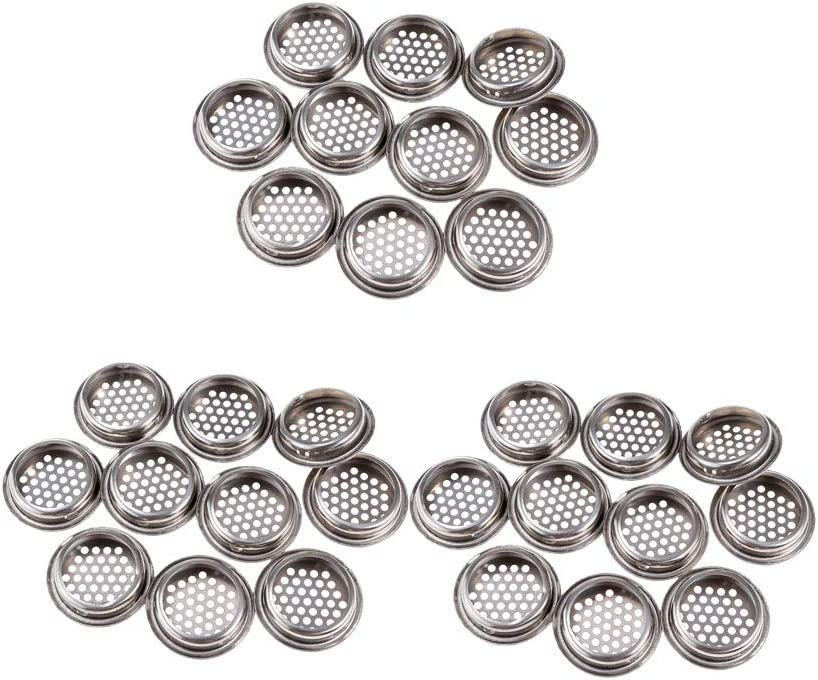 Dolity 30 Pieces List price 35mm Mounting Round Metal Diameter Type Cabinet Sales results No. 1
