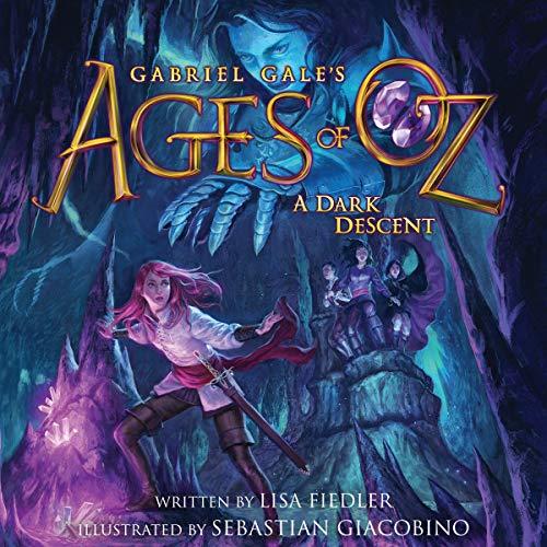 A Dark Descent audiobook cover art