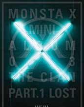 MONSTA X - The CLAN 2.5 Part.1 LOST [LOST ver.] CD + Photo Booklet + Photocard + Folded Poster + Mini Postcard + Sticker + Extra Photocard