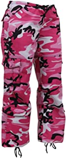 Rothco - Womens Paratrooper Colored Camo Fatigues - Pink Camo