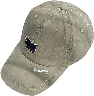69575aa4fc8489 HowLoo Baseball Caps Printed Dog Mens Women Baseball Caps Unisex Peak Caps  Summer