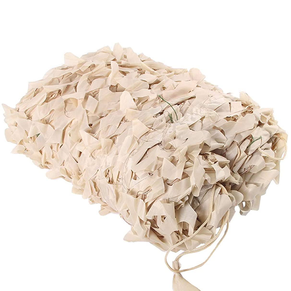 XIAOXIAO Camouflage Net, Blinds for Sunshade Camping, Garden Party Decoration, Sun Protection Awning, (2x3M) Beige Color