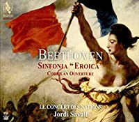 Beethoven: Symphony No.3, Coriolan Overture by Le Concert des Nations