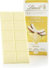 Lindt Excellence Bar, White Coconut, Gluten-Free, 3.5 Ounce (Pack of 12)
