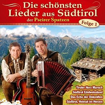 Die schönsten Lieder aus Südtirol